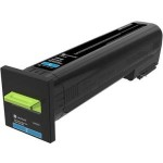 22K Cyan Toner Cartridge (CX825) 82K0X20