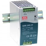 B&B 240W Single Output Industrial Din Rail With PFC Function SDR-240-24