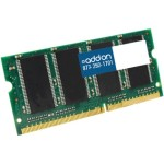 AddOn 2GB DDR3 1333MHZ 204-pin SODIMM F/Dell Notebooks AA1333D3S9/2G