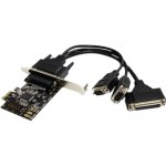 StarTech.com 2S1P PCI Express Serial Parallel Combo Card PEX2S1P553B