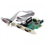StarTech.com 2S1P PCIe Parallel Serial Combo Card PEX2S5531P