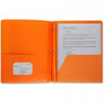 3-Hole Punched Poly Portfolios 20889