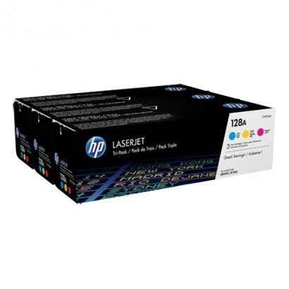 HP 3-pack Cyan/Magenta/Yellow Original LaserJet Toner Cartridges CF371AM