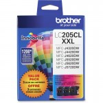 Brother 3-Pack Ink Cartridges LC2053PKS