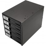 "SYBA Multimedia 3.5"" 5-Bay SATA/SAS HDD Internal Enclosure SY-MRA35031"