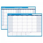 At-A-Glance 30/60-Day Undated Horizontal Erasable Wall Planner, 48 x 32, White/Blue AAGPM33328
