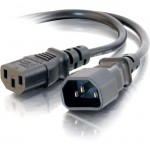 C2G 3ft Computer 18 AWG Power Cord Extension (IEC320C14 to IEC320C13) 03120