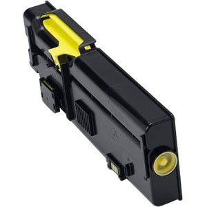 Dell 4,000-Page Yellow Toner Cartridge for C2660dn/ C2665dnf Color Laser Printer 2K1VC