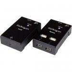StarTech 4-Port USB 2.0-Over-Cat5-or-Cat6 Extender - up to 165ft (50m) USB2004EXTV