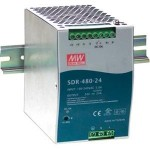B&B 480W Single Output Industrial Din Rail With PFC Function SDR-480-24