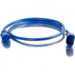 C2G 4ft 14AWG Power Cord (IEC320C14 to IEC320C13) - Blue 17540