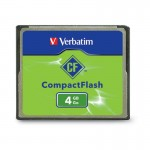 Verbatim 4GB CompactFlash (CF) Card 95188