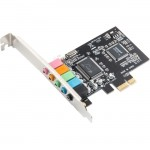SYBA Multimedia 5.1 Channel PCI-e x1 Sound Card SI-PEX63096