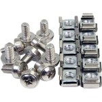 4XEM 50 Pkg M6 Rack Mounting Screws and Cage Nuts For Server Racks/Cabinets 4XM6CAGENUTS