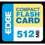 Edge 512MB Digital Media CompactFlash Card PE179502