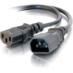 C2G 5ft 16 AWG 250 Volt Computer Power Extension Cord (IEC320C14 to IEC320C13) 29933
