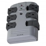 Belkin 6-Outlets Surge Suppressor BP106000