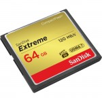 SanDisk 64GB Extreme CompactFlash (CF) Card SDCFXS-064G-A46