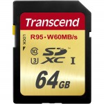 64GB Secure Digital Extended Capacity (SDXC) - Card TS64GSDU3