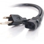 C2G 6ft 16 AWG Universal Power Cord (NEMA 5-15P to IEC320C13) 25545