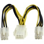 StarTech 6in PCI Express Power Splitter Cable PCIEXSPLIT6