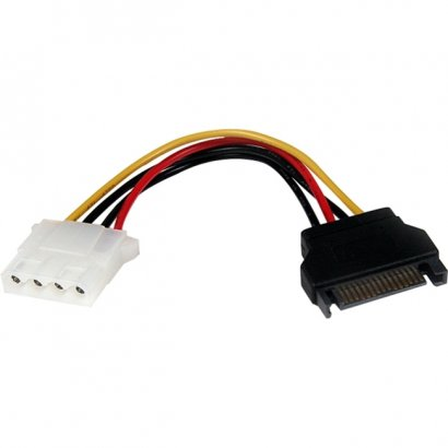StarTech 6in SATA to LP4 Power Cable Adapter LP4SATAFM6IN