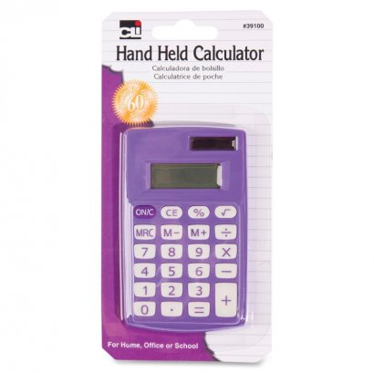 8-Digit Hand Held Calculator 39100ST