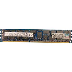 HPE 8GB, Dual Rank x4 PC3L-12800R (DDR3-1600) 715283-001