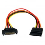 StarTech 8in 15 pin SATA Power Extension Cable SATAPOWEXT8