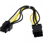 StarTech 8in 6 pin PCI Express Power Extension Cable PCIEPOWEXT