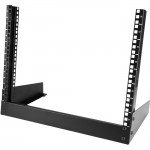 StarTech.com 8U Desktop Rack - 2-Post Open Frame Rack - 19in Open Frame Desktop Rack - 8U RK8OD