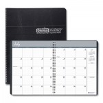 House of Doolittle Academic Ruled Monthly Planner, 14-Mo. July-August, 8 1/2 x 11, Black, 2019-2020 HOD26502