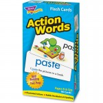 Action Words Skill Drill Flash Cards 53013