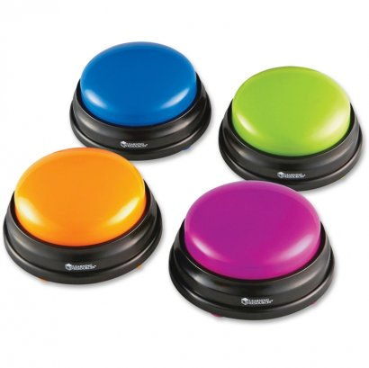 Answer Buzzers, Set of 4 LER3774