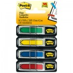 "Post-It Flags 684ARR3 Arrow 1/2"" Page Flags, Blue/Green /Red/Yellow, 24/Color, 96-Flags/Pack MMM684ARR3"