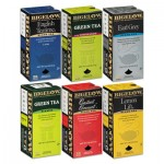 Bigelow 577 Assorted Tea Packs, Six Flavors, 28/Box, 168/Carton BTC15577