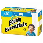 Bounty Basic Select-a-Size Paper Towels, 5 9/10 x 11, 1-Ply, 89/Roll, 8/Pack PGC75721