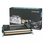Lexmark Black High Yield Return Program Toner Cartridge C736H1KG