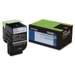 Lexmark Black High Yield Return Program Toner Cartridge 70C1HK0