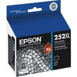 Epson Black Ink Cartridge, High Capacity (T120) T252XL120-S