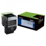 Lexmark Black Return Program Toner Cartridge 70C10K0