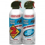 Maxell Blast Away Canned Air 152a Formula 2 Pk (CA-4) 190026
