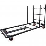 Blow Mold Rectangular Table Trolley Cart 65956