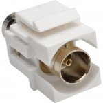 Tripp Lite BNC All-in-One Keystone/Panel Mount Coupler (F/F), 75 Ohms A230-001-KP