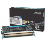 Lexmark C748 Cyan High Yield Return Program Toner Cartridge C748H1CG