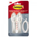 Command Cable Bundler, White, 2/Pack MMM17304ES