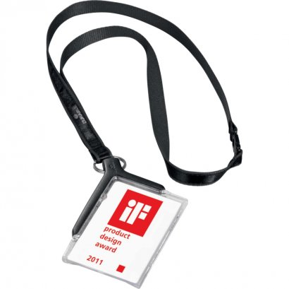 Durable Card Holder Deluxe w/Lanyard 820758