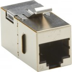 Black Box CAT6A Keystone Coupler - Shielded C6ACP70S-SV