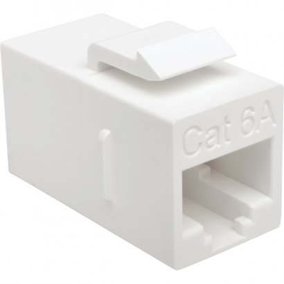 Tripp Lite Cat6a Straight-Through Modular In-Line Snap-In Coupler (RJ45 F/F) BHDBT-001-FF