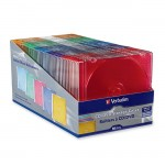 Verbatim CD / DVD Color Slim Case 94178